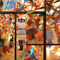 2013.10「art forest ASAGAYA ほほえみの森」ギャラリー白線 阿佐ヶ谷/Gallery Hakusen TOKYO